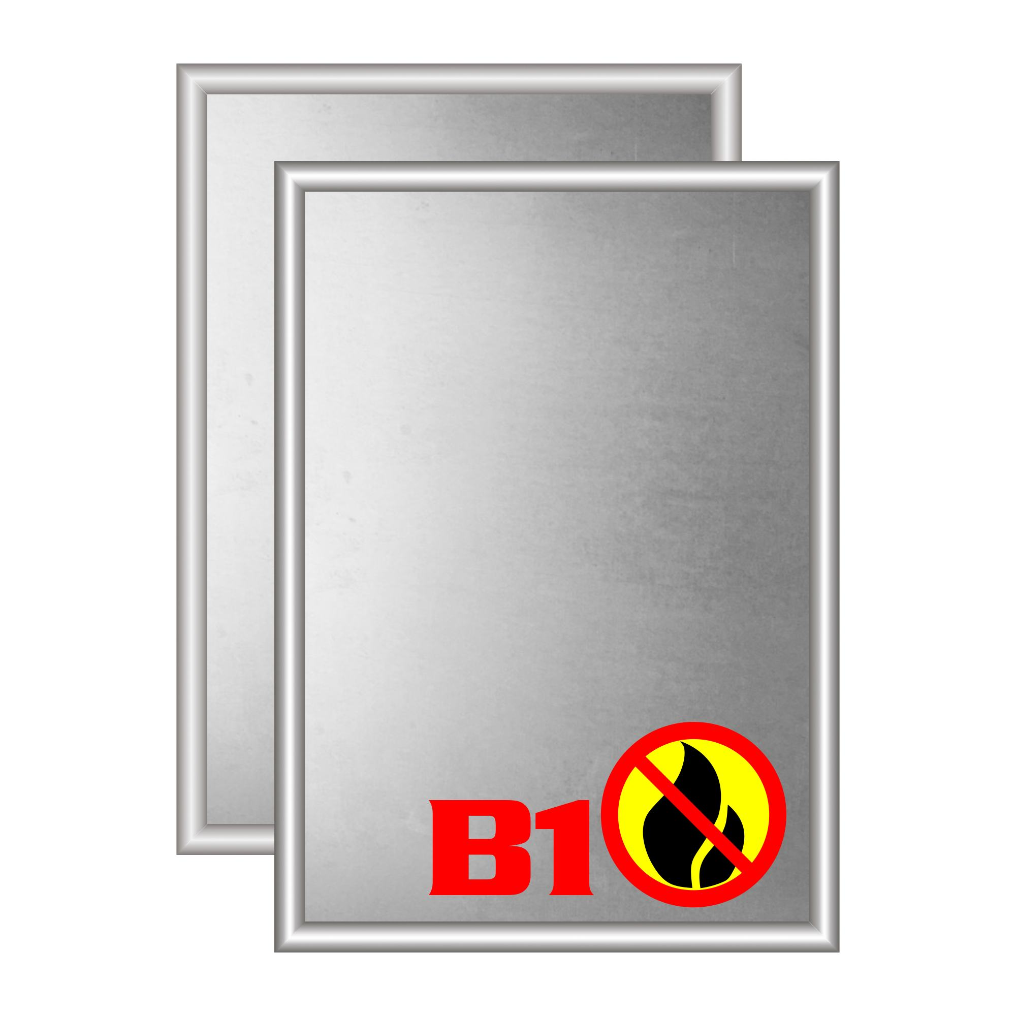 B1 Schwerentflammbarer Klapprahmen
